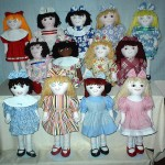 A Group of Dolls